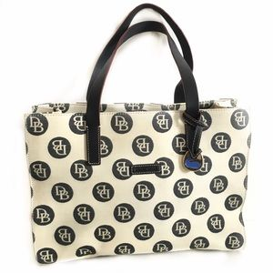 Dooney & Bourke Monogram East West Canvas Tote